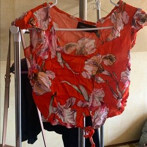 MinkPink tangerine dream top